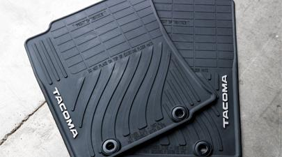 Toyota Tacoma All Weather Floor Mats Extended